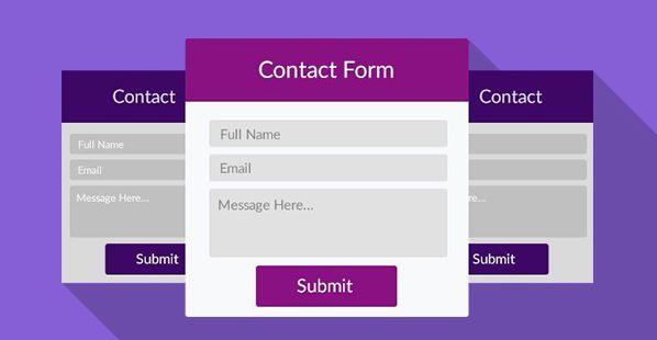 Plugin Contact Form.