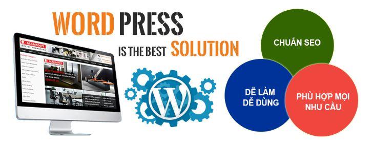 Wordpress dễ dàng sử dụng