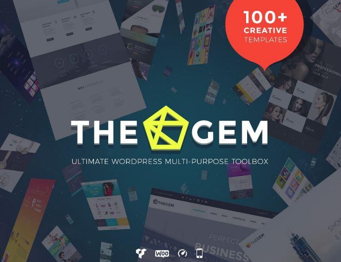 The gem - theme wordpress chuyên nghiệp
