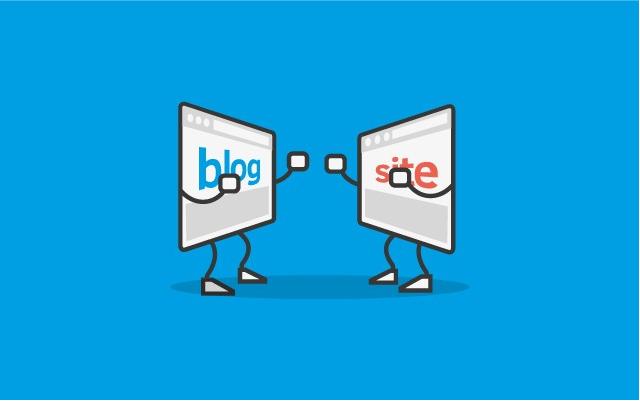 Blog là một dạng khác của website