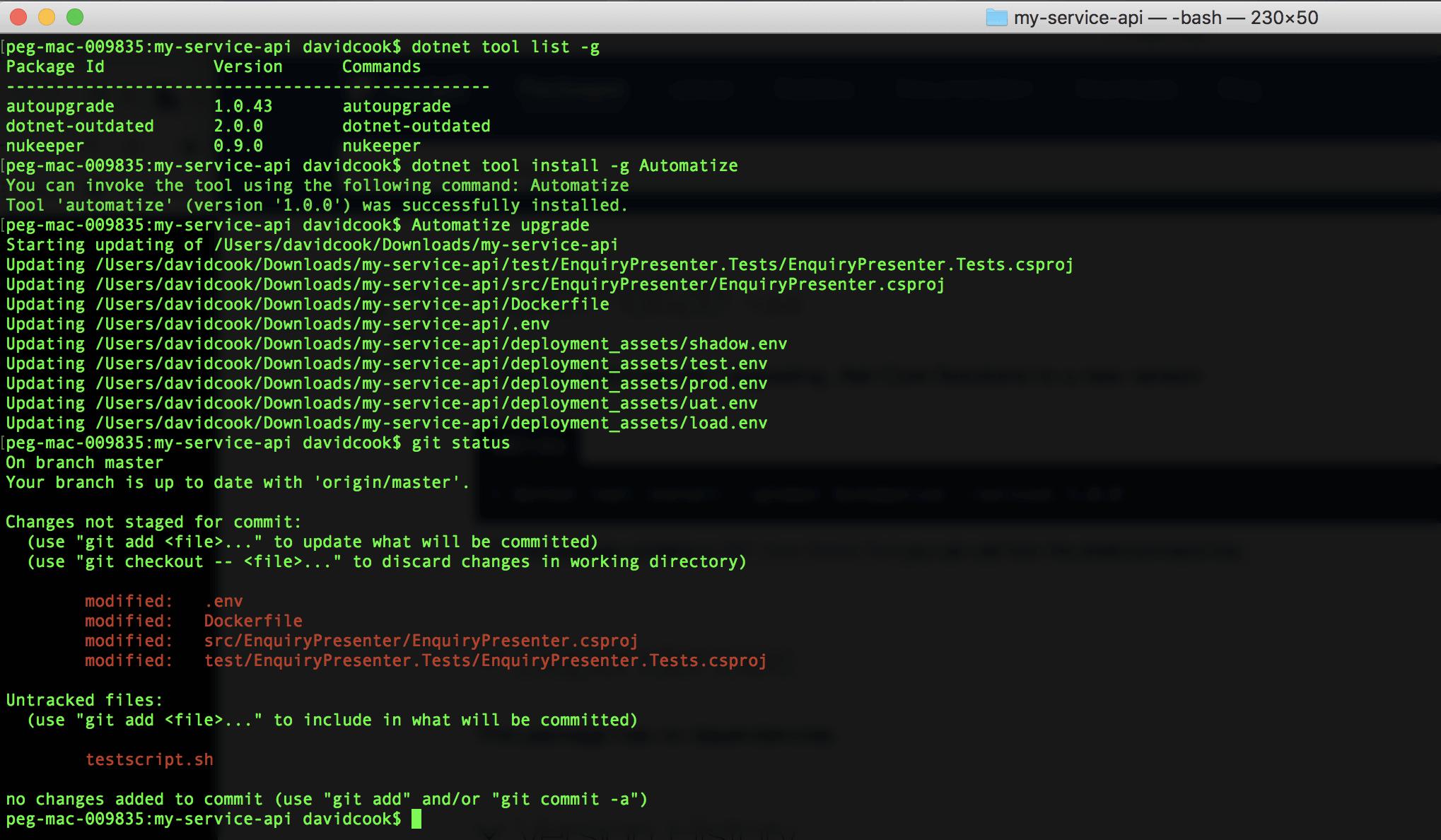 Lập trình viên frontend biết thực hiện command line